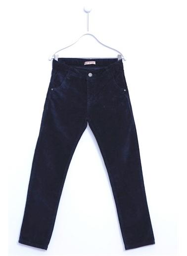 Silversun Kids Kadife Pantolon Kadife 5 Cepli Pantolon Erkek Çocuk Pc 310479 Lacivert